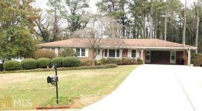 Roswell Single Family Home Under Contract: 1065 Delmont
