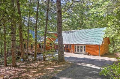 Hiawassee Single Family Home For Sale: 288 Maneys Branch Rd