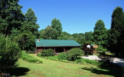 Dawsonville Single Family Home For Sale: 168 Silver Fox