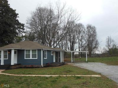 Griffin Single Family Home Under Contract: 87 Rehoboth Rd