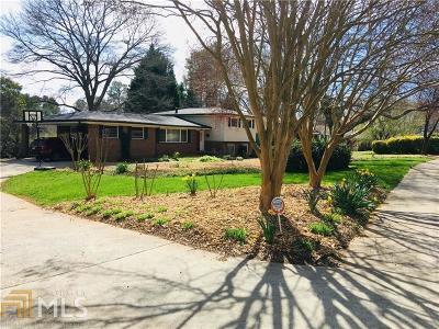 Avondale Estates Single Family Home Under Contract: 1066 Clarendon Ave