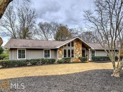 Roswell Single Family Home Under Contract: 680 Saddle Creek Cir