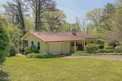 Rabun County Single Family Home For Sale: 104 Barn Inn Rd