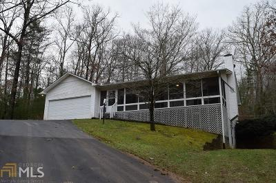 Blairsville Single Family Home Under Contract: 845 Wesley Mtn Dr
