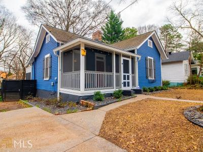 Howell Station Single Family Home Under Contract: 1207 Niles Ave