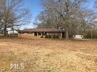 Elberton GA Single Family Home Under Contract: $129,500