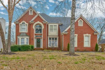 Suwanee Single Family Home For Sale: 3645 Old Suwanee