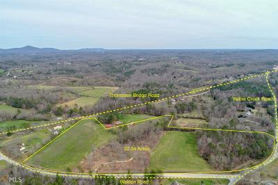 Hall County Farm For Sale: 6055 Walden Rd