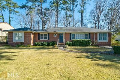 Brookhaven Single Family Home Under Contract: 2665 Ashford Rd