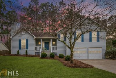 Acworth Single Family Home Under Contract: 1281 Parkwood Chase