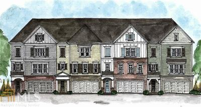 Kennesaw Condo/Townhouse For Sale: 2874 Boone Dr #Lot 10