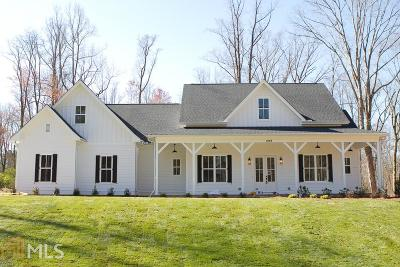 Woodstock Single Family Home New: 815 Arnold Mill Rd
