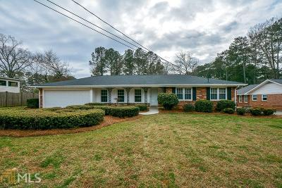 Tucker Single Family Home Under Contract: 2404 Henderson Rd