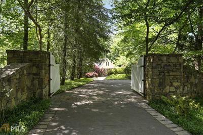 Buckhead Single Family Home For Sale: 3435 Ridgewood Rd