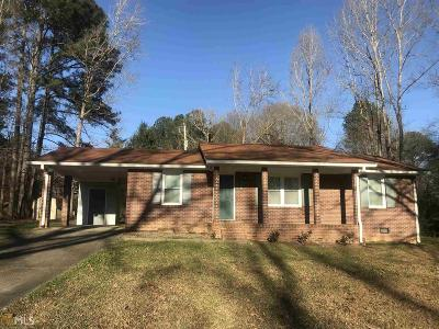 Griffin Single Family Home Under Contract: 178 Pirkle Rd