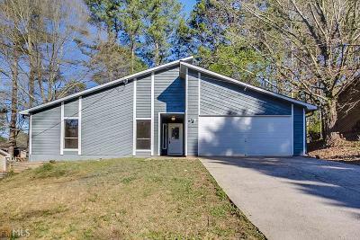 Norcross Single Family Home Under Contract: 5349 Veranda Dr