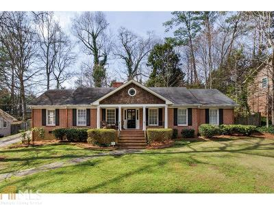 Sandy Springs Single Family Home Under Contract: 5800 Brookgreen Rd