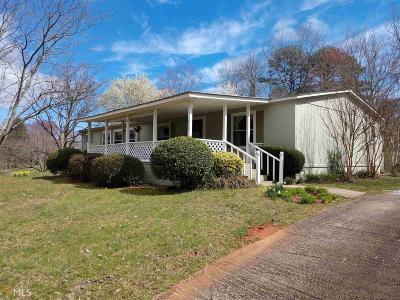 Rabun County Single Family Home Under Contract: 213 Saga Mountain Rd