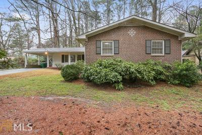 Decatur Single Family Home For Sale: 3030 Briarlake Rd