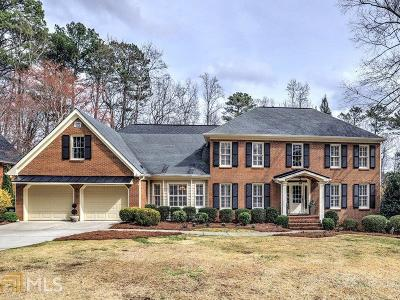 Marietta, Roswell Single Family Home Under Contract: 5102 Hampton Lake Dr