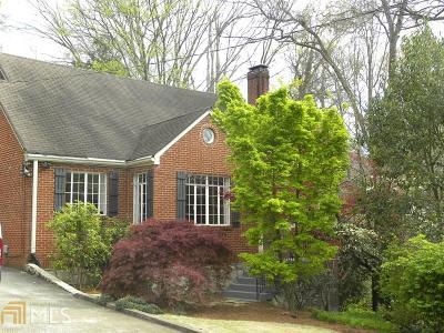Atlanta Single Family Home New: 401 Claire Dr
