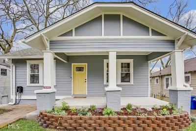 Reynoldstown Single Family Home Under Contract: 1095 Boulevard