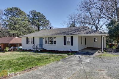 Smyrna Single Family Home For Sale: 678 Pat Mell Rd