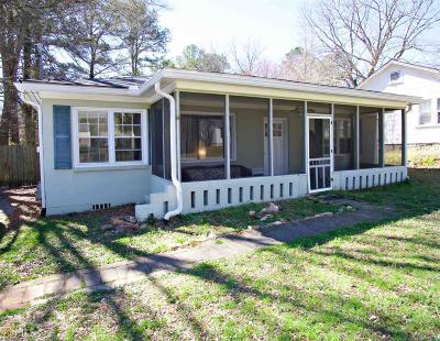 Carrollton Single Family Home Under Contract: 223 South Blvd