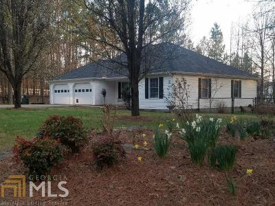 Banks County Single Family Home Under Contract: 290 Chambers Rd