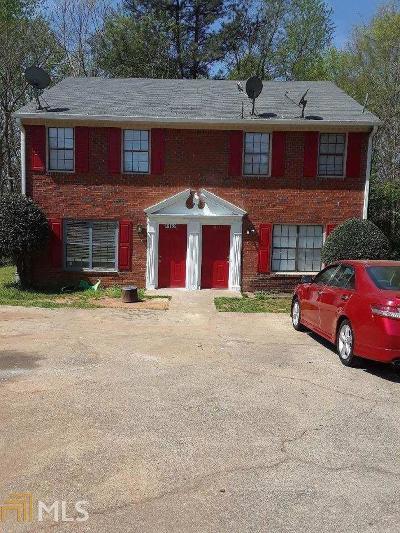 Gwinnett County Multi Family Home Under Contract: 4162 Sturgeon Cir