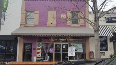 Canton, Woodstock, Cartersville, Alpharetta Commercial For Sale: 8590 Main St