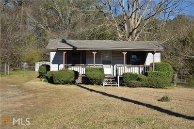 Douglasville Single Family Home Under Contract: 3206 Lake Monroe Rd