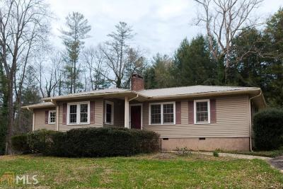 Clarkesville Single Family Home Under Contract: 242 Wildwood Cir