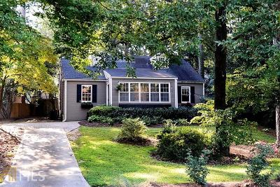 Druid Hills Single Family Home Under Contract: 1901 Westminster Way