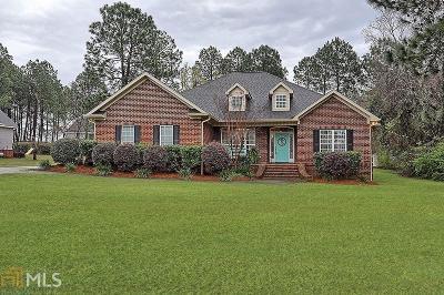 Statesboro Single Family Home New: 1200 Columbus Dr
