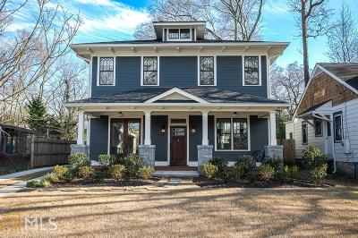 Decatur Single Family Home Under Contract: 239 Greenwood Cir