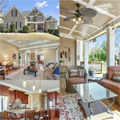Marietta Single Family Home Under Contract: 4034 Chapel Grove Dr