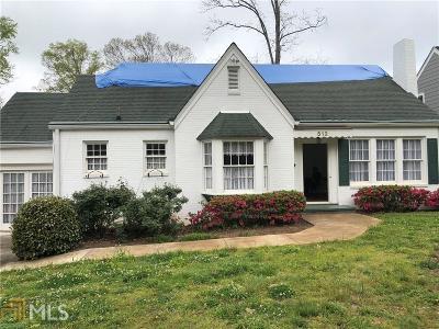 Decatur Single Family Home For Sale: 512 Scott Blvd