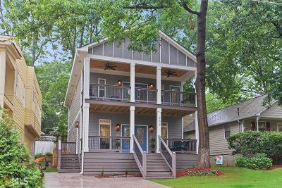 Grant Park Single Family Home For Sale: 706 Grant Ter