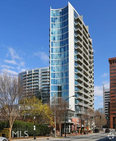 Plaza Midtown Condo/Townhouse For Sale: 950 W Peachtree St #1114