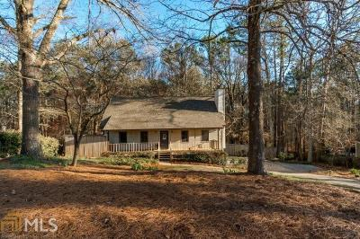 Kennesaw Single Family Home Under Contract: 3939 Mill Creek Rd