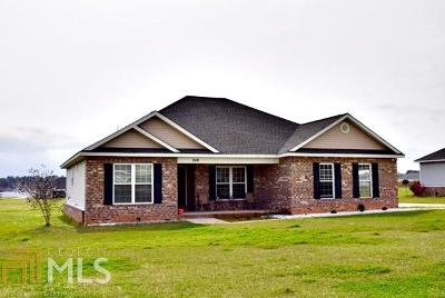 Statesboro Single Family Home For Sale: 249 Stonebrook Way