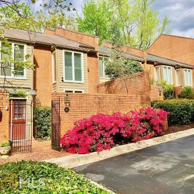 Sandy Springs Condo/Townhouse Back On Market: 65 Willow Glen