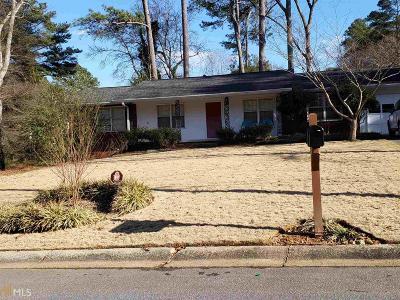 Smyrna Single Family Home For Sale: 3499 Navaho Trl
