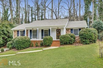 Atlanta Single Family Home New: 5555 Sherrell Dr