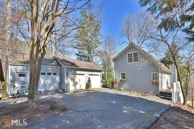 Cumming Single Family Home Under Contract: 1935 Buford Dam Rd