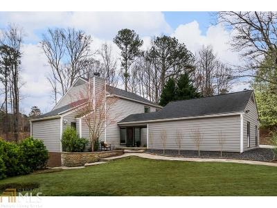 Johns Creek Single Family Home Under Contract: 9065 Barnwell Rd