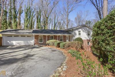 Atlanta Single Family Home New: 5650 Colton Dr