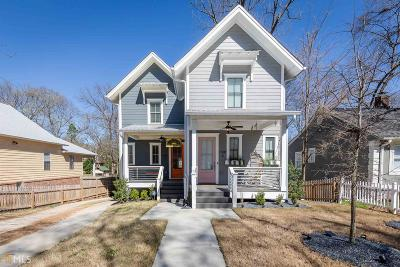Reynoldstown Condo/Townhouse For Sale: 1100 Wylie St #A