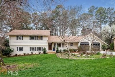 Dunwoody Single Family Home Under Contract: 5717 Mill Trace Dr